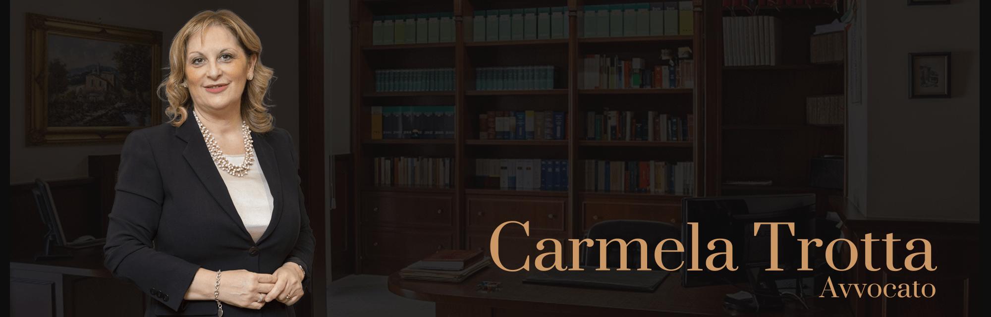 Avvocato Carmela Trotta